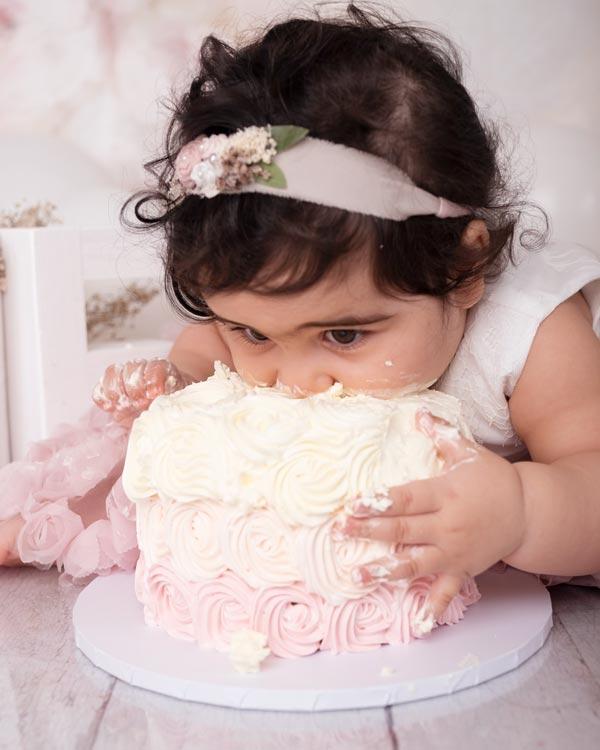 child Cake Smash photo